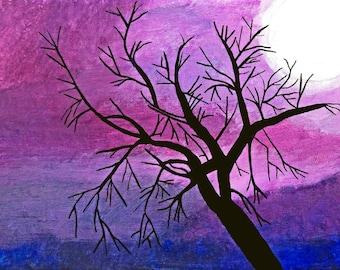 Amazing Purple Sky!