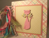 Scrapbook Album Premade - 6x6 14 Pages - Pretty Kitty