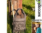 "SUCCAPLOKKI -  14"" Knitting Bag"