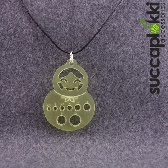 OLGA - Knitters pendant