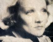 Vintage Marlene Dietrich Photo Portrait Lobby Card