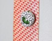 SALE floral magnet