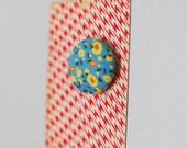 SALE floral print magnet
