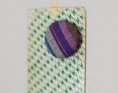 SALE purple stripe magnet