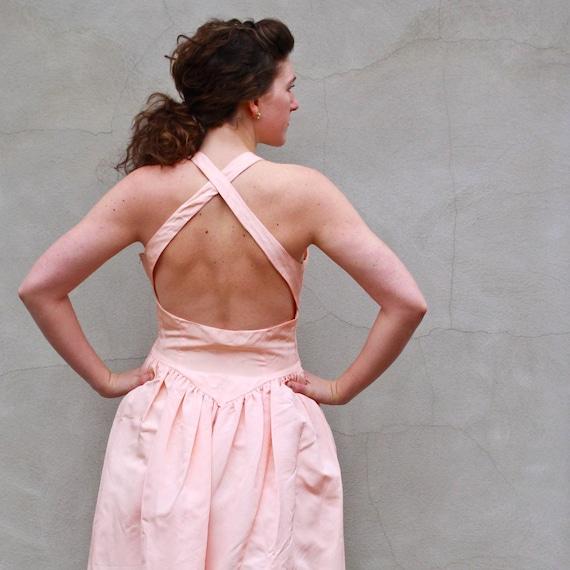 vintage BALLERINA dress. L