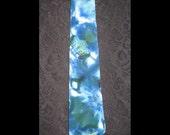 SALE - Hand-Dyed SILK CREPE DE CHINE TIE