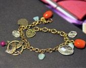 Custom charm bracelet for Cora