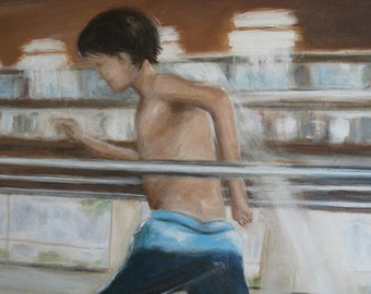Running- Original Painting