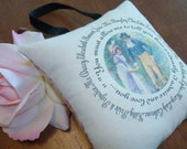 Jane Austen-Pride and Prejudice-'You Must Allow Me to Tell You'-Quotation Miniature Hanging Pillow