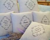 The Novels of Jane Austen-Lavender Scented Sachet Set of Six