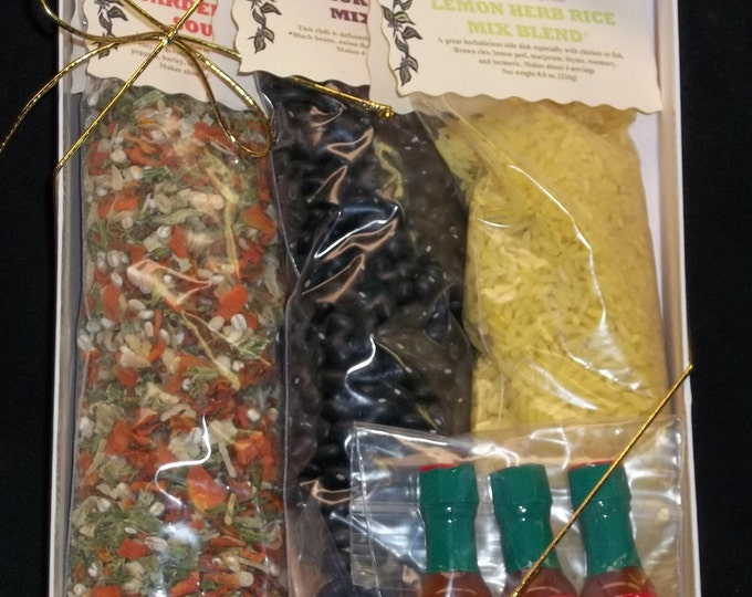 True Colors Gift Set, Soup Mix, Gift Set, Herbs and Spices, Seasonings, Dried Beans, Salt Free