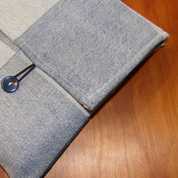 MacBook Laptop Sleeve/Case in Recycled Denim