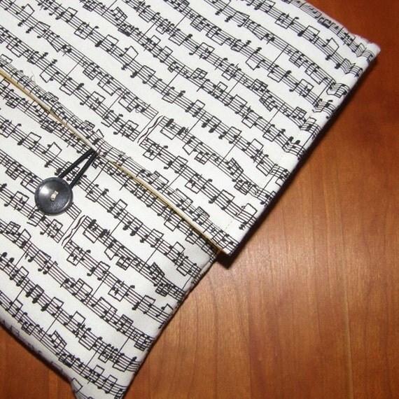 MacBook Sleeve/Case in Music Fabric