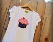 Birthday Party Cupcake Shirt- coordinates with Mary Had A Little Party's Shop Items