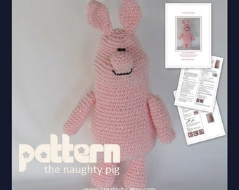 The Naughty Pig - a crochet pattern