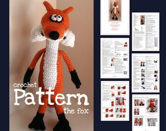 The Fox -  a crochet pattern