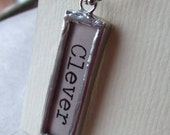 Just Words Pendant