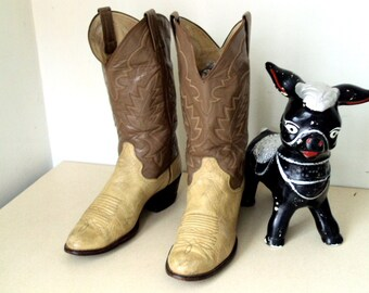 Vintage Panhandle Slim Cowboy Boots size 9.5 D or Cowgirl size 11