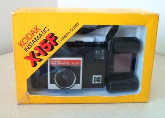 Vintage Kodak Instamatic X-15F Camera outfit in original box