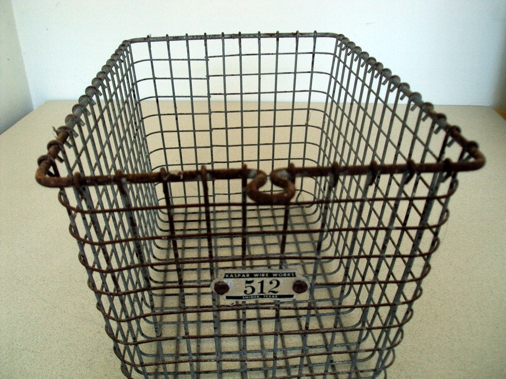 Wire Gym Basket Or Swimming Pool Locker Basket No 512-8605