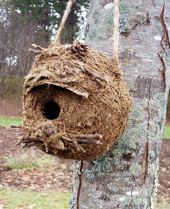 Rustic Outdoor Birdhouse FREE Shipping