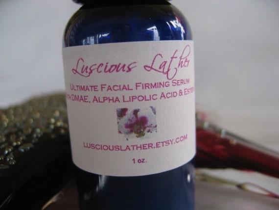Ultimate Facial Serum with DMAE, Alpha Lipoic Acid and Ester C - Vegan
