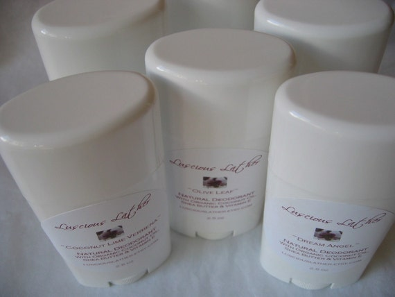 Shampure Type Natural Deodorant with Organic Coconut Oil
