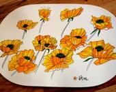 Vera Flower Placemats