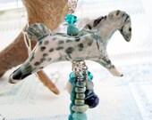 Appaloosa Horse necklace