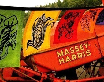 Vegetable Flags
