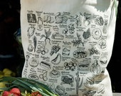 State-By-Food Tote Bag
