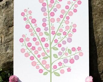 Wedding Bouquet Genealogy Chart