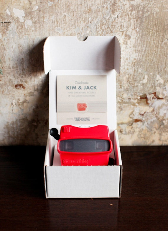 Items Similar To Viewmaster Invitations  Custom  On Etsy