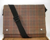 Plaid Satchel \/ Messenger Bag
