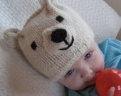 The Original Hat Menagerie Knitting Pattern for chunky yarn - PDF