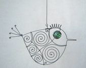 Still Another Green - Eyed Wire Bird