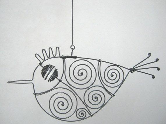 Colorless - Eyed Wire Bird