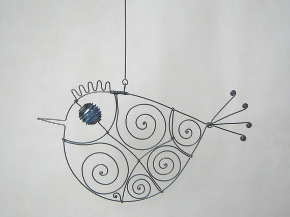 Still Another Blue - Eyed Wire Bird