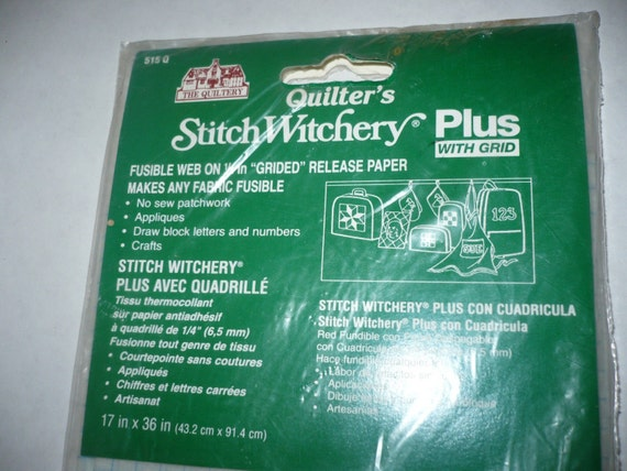 Quilters Stich Witchery Plus with Grid