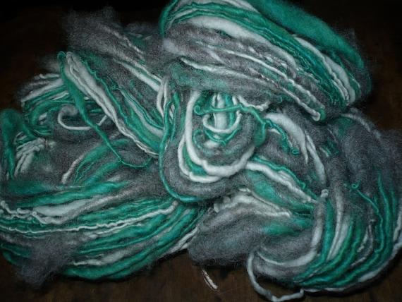Misty morning handspun yarn