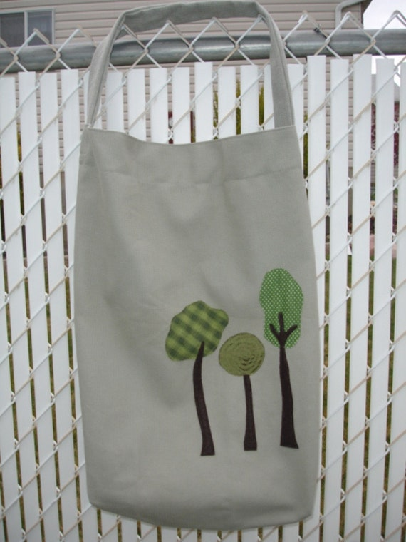 Trio of Trees Tote Bag