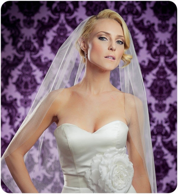 34 Inch Little Something Wedding Veil