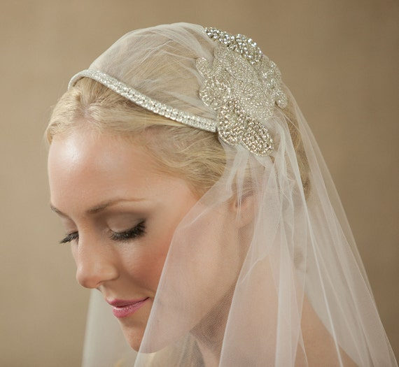 NEW 30 Inch Anastasha Bridal Cap Wedding Veil