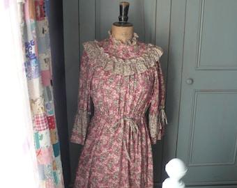 1960/s liberty print dress