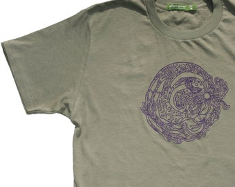 Organic T Shirt Swirl Girl Silky