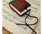 Pocket Book, Brown Vintage Leather Journal