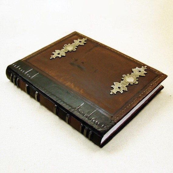 The Magic Book, Brown Vintage Leather Journal