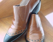 SALE :) Western Style Vintage 1990s GUESS by George Marciano Short Womens Boots Shoes was 35.00 now 24.50