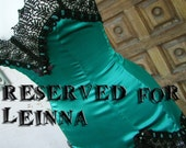 RESERVED for Leinna Lingerie or Saloon Girl Dress Lace Borders