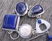 Moonlit Night - Lapis Bracelet